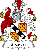 English Coat of Arms for Spencer