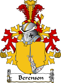 Dutch Coat of Arms for Berenson