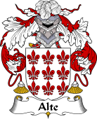 Portuguese Coat of Arms for Alte
