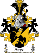 Dutch Coat of Arms for Appel