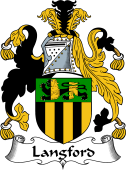 Irish Coat of Arms for Langford