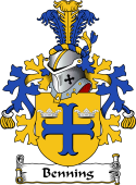Dutch Coat of Arms for Benning