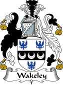 English Coat of Arms for Wakeley