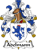 German Wappen Coat of Arms for Adelmann