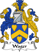 English Coat of Arms for Wager