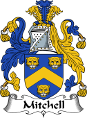 Irish Coat of Arms for Mitchell