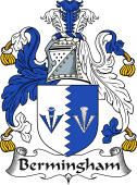 Irish Coat of Arms for Bermingham