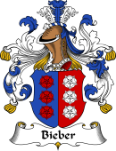 German Coat of Arms for Bieber