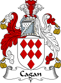 English Coat of Arms for Cagan