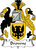 Irish Coat of Arms for Browne