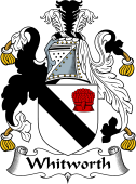 English Coat of Arms for Whitworth