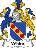 English Coat of Arms for Whitty