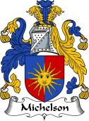 English Coat of Arms for Michelson