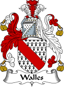 English Coat of Arms for Walles