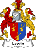 English Coat of Arms for Lewin
