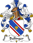 German Coat of Arms for Ballinger