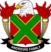 American Coat of Arms for Andrews