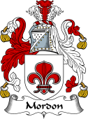 English Coat of Arms for Morden or Mordon