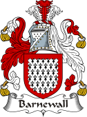 Irish Coat of Arms for Barnewall