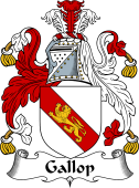 English Coat of Arms for Gallop