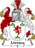 English Coat of Arms for Livesey
