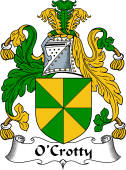 Irish Coat of Arms for O'Crotty