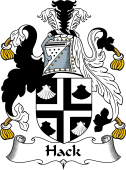 English Coat of Arms for Hack
