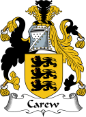 English Coat of Arms for Carew