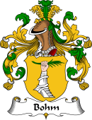 German Coat of Arms for Bohm