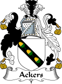 English Coat of Arms for Ackers