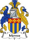 English Coat of Arms for Mewes