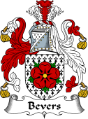 English Coat of Arms for Bevers