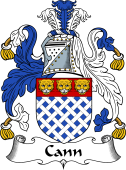 English Coat of Arms for Cann