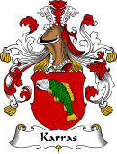 German Wappen Coat of Arms for Karras