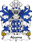Welsh Coat of Arms for Adams