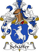 German Coat of Arms for Schäffer