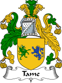 English Coat of Arms for Tame