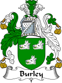 English Coat of Arms for Burley