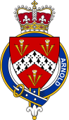 British Garter Coat of Arms for Arnold (England)