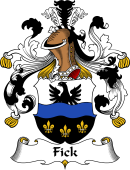 German Coat of Arms for Fick