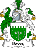 English Coat of Arms for Bovey