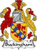 English Coat of Arms for Buckingham