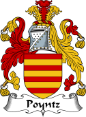 Irish Coat of Arms for Poyntz or Punch