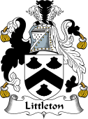 English Coat of Arms for Littleton