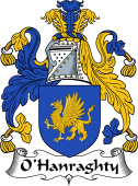 Irish Coat of Arms for O'Hanraghty or Henraghty