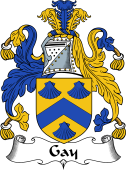 English Coat of Arms for Gay