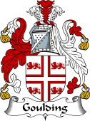 English Coat of Arms for Goulding