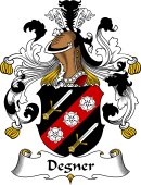 German Coat of Arms for Degner