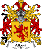 Italian Coat of Arms for Alfani