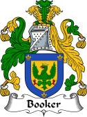 English Coat of Arms for Booker